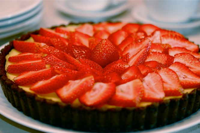 mascarpone-strawberry-tart