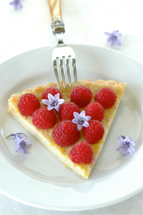 lemon-buttermilk-raspberry-tart