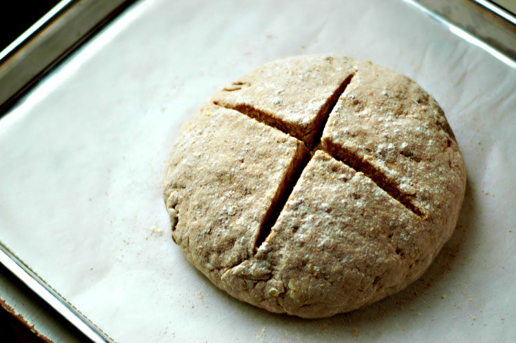 Irish Brown Bread | kiss my spatula | food + photography