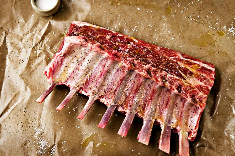 Rosemary Lamb Popsicles with Mint Gremolata | kiss my spatula | food ...